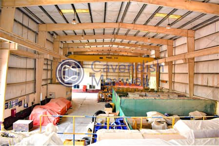 Warehouse for Sale in Dubai Investment Park (DIP), Dubai - Big Plot I 9M Height WH with Cranes I Sale or Rent