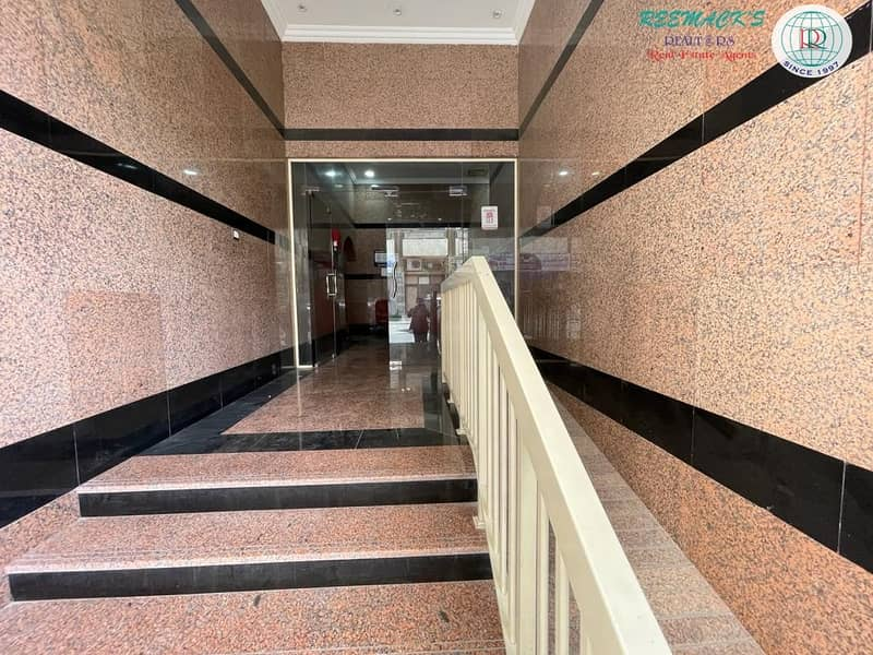 2  SPACIOUS 2 B/R HALL FLAT WITH SPLIT DUCTED A/C and BALCONY IN GHUWAIR AREA