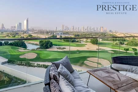 3 Bedroom Flat for Rent in The Hills, Dubai - Golf course View | Furnished | 3 Beds Plus Maid