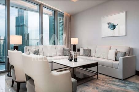 3 Bedroom Hotel Apartment for Sale in Downtown Dubai, Dubai - Lowest Price  Corner  Burj Khalifa view  06 Unit