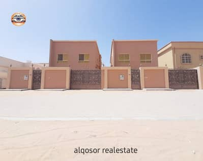 5 Bedroom Villa for Sale in Al Mowaihat, Ajman - Villa for sale in Ajman, Al Mowaihat area, two floors, next to a mosque, with the possibility of easy bank financing