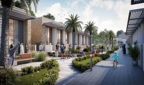 2 Bedroom Townhouse for Sale in Dubailand, Dubai - best town house price 3 BR | near to arabian ranches | community 40% green area | payment plan