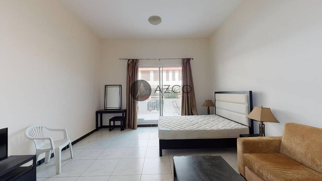 Spacious Fully Furnished Studio | Massive Terrace