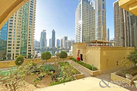 2 Bedroom Flat for Rent in Jumeirah Beach Residence (JBR), Dubai - Large Two Bedroom Apartment | Marina Views