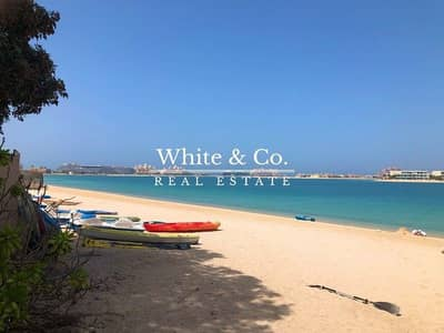 2 Bedroom Apartment for Sale in Palm Jumeirah, Dubai - LARGE | GREAT VIEW | LARGE PRIVATE GARDEN