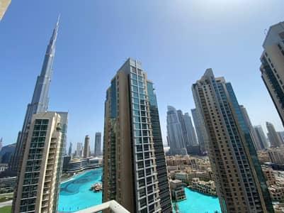 3 Bedroom Apartment for Rent in Downtown Dubai, Dubai - RARE 3BEDS FULL BURJ VIEW HUGE TERRACE