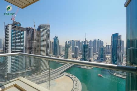2 Bedroom Apartment for Rent in Dubai Marina, Dubai - Full Marina View | Furnished | Vacant from 1 June