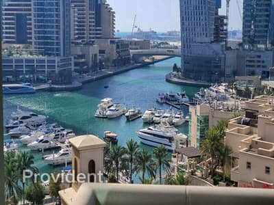 2 Bedroom Flat for Sale in Dubai Marina, Dubai - Vacant | Full Marina View | Fully Furnished