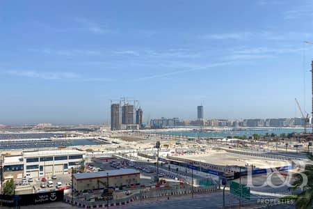 فلیٹ 2 غرفة نوم للبيع في دبي مارينا، دبي - Palm and Sea View   Tenanted   Balcony