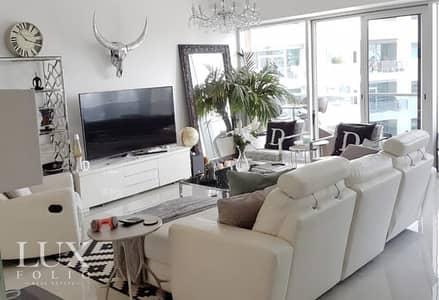 فلیٹ 3 غرف نوم للايجار في دبي مارينا، دبي - Furnished | Marina View | Modern & Bright