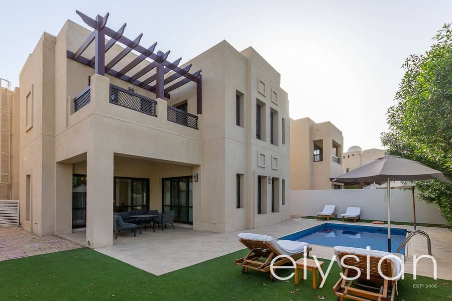 Furnished 4 Bed Villa | Golf Course Views