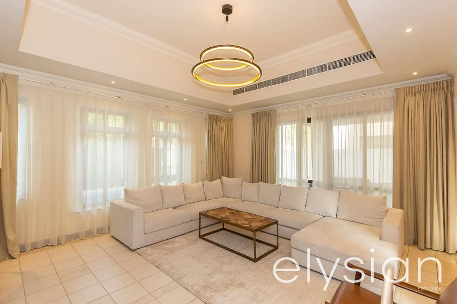 2 Furnished 4 Bed Villa | Golf Course Views