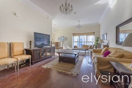 3 Bedroom Apartment for Rent in Dubai Marina, Dubai - Next to Metro | Furnished | Big Terrace