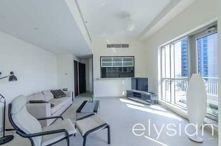 1 Bedroom Apartment for Rent in Downtown Dubai, Dubai - 1 Bed + Study | Spacious Living | High Floor