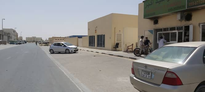 Industrial Land for Rent in Al Saja, Sharjah - 28500 Sqft Open Land 3 Phase Electricity(45 Kw) 2 Office Water Connection Boundary wall In Al Saja Sharjah