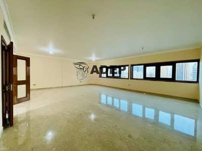 فلیٹ 4 غرف نوم للايجار في شارع حمدان، أبوظبي - Huge  Apt Limited Offer Hurry Up