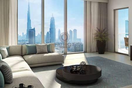 4 Bedroom Flat for Sale in Downtown Dubai, Dubai - Corner Unit| Breath Taking Burj Khalifa & Creek Tower View| Direct from Emaar| Higher Floor|