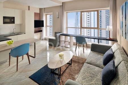 فلیٹ 1 غرفة نوم للايجار في وسط مدينة دبي، دبي - All Bills Included / Fully serviced / Big Layout