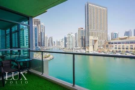 شقة 3 غرف نوم للبيع في دبي مارينا، دبي - Rarest Best 3 Bedroom In Dubai Marina | Fully Upgraded |