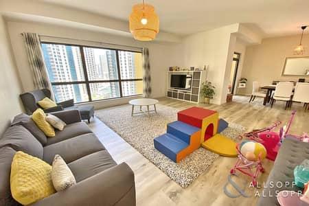 شقة 3 غرف نوم للبيع في جميرا بيتش ريزيدنس، دبي - 3 Beds | Balcony | Rented Until October<BR/>