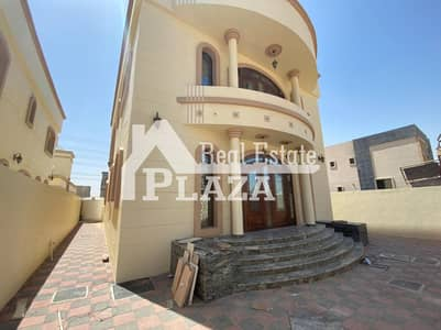 5 Bedroom Villa for Sale in Al Yasmeen, Ajman - For sale, super deluxe finishing villa, a distinctive location, freehold for all nationalities.