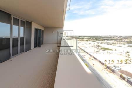 فلیٹ 4 غرف نوم للايجار في شاطئ الراحة، أبوظبي - Top Floor | Top Choice & Road View  | Best Price !