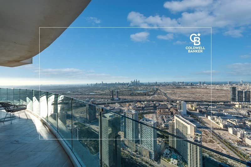 Beautiful 4 BR Penthouse w/t private pool and garden