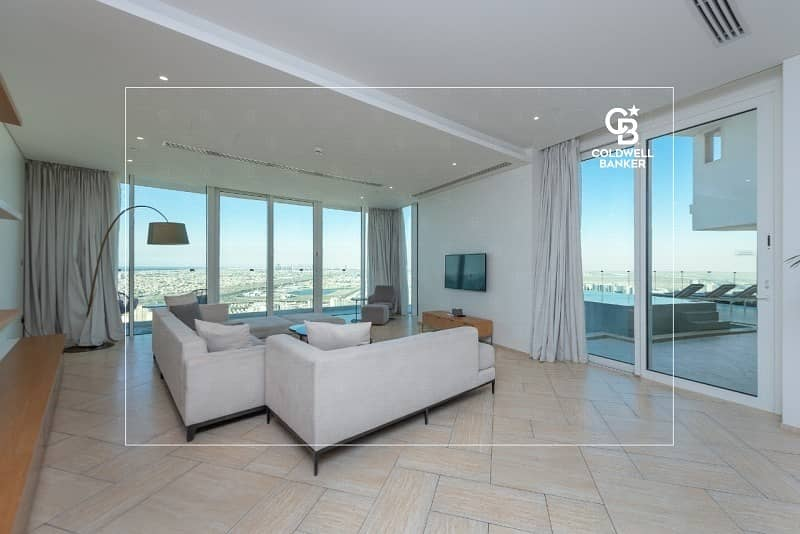 2 Beautiful 4 BR Penthouse w/t private pool and garden