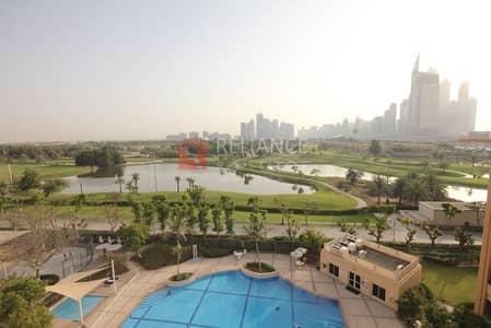 فلیٹ 3 غرف نوم للبيع في الروضة، دبي - Golf View | 3 Bedrooms + Study | 2 Parking Vacant.