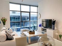 Incredible 1BR With Balcony | High Floor |Tenanted