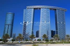 شقة في برج البوابة 2 برج البوابة شمس جيت ديستريكت جزيرة الريم 1 غرف 60000 درهم - 5090707