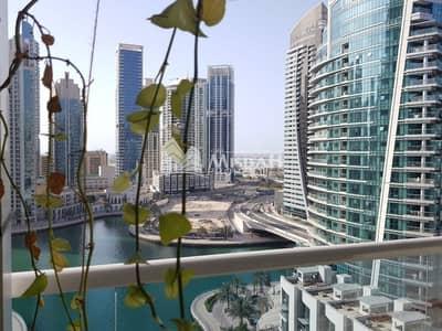 فلیٹ 2 غرفة نوم للايجار في دبي مارينا، دبي - Full marina view 2 bedroom with kitchen appliances in Dubai marina