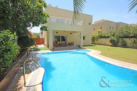 4 Bedroom Villa for Sale in The Meadows, Dubai - Fully Upgraded | Private Pool | Single Row