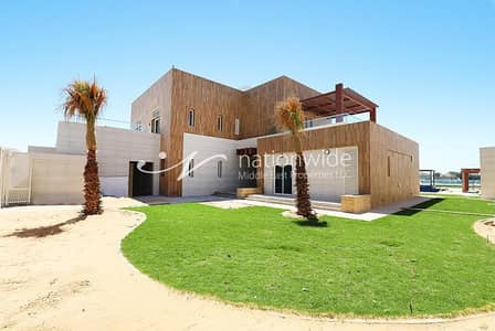7 Bedroom Villa for Rent in The Marina, Abu Dhabi - A Huge Family Home with Sea View + Private Pool