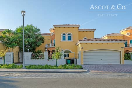5 Bedroom Villa for Sale in Jumeirah Park, Dubai - 5 Bed+M Legacy | 1 Bed Down |Back 2 Back