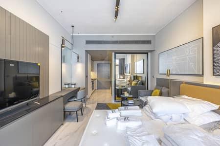 استوديو  للايجار في الخليج التجاري، دبي - Burj Khalifa view | Luxury MAG 318  Furnished Studio