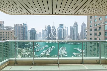 2 Bedroom Apartment for Rent in Dubai Marina, Dubai - Exclusive: Full Marina View Available End April