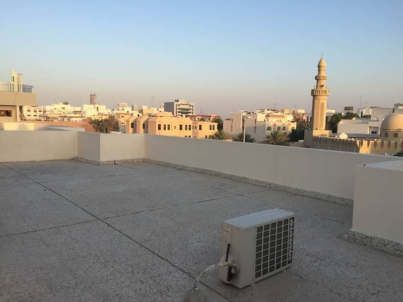 29 No Commission & Free Parking! Spacious Penthouse Studio in Najda Street behind Burjeel Hospital