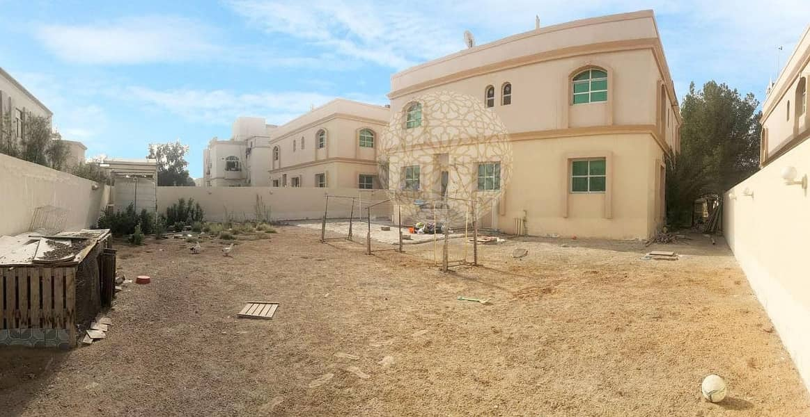 26 STUNNING STAND ALONE  5 MASTER BEDROOM VILLA WITH MAID ROOM AND DRIVER ROOM FOR RENT IN KHALIFA CITY A