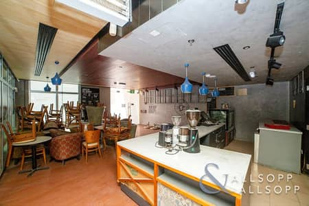 Shop for Rent in Dubai Media City, Dubai - Restaurant   Fully Furnished   Ground Floor