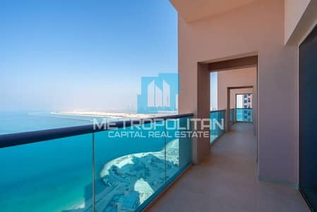 1 Bedroom Flat for Sale in The Marina, Abu Dhabi - Hot Deal |Luxurious Fully Furnished| Full Sea View