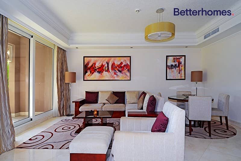 Exclusive | Ground floor | Furnished | Beach Access
