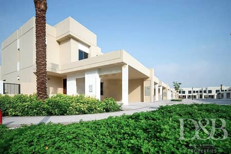 3 Bedroom Townhouse for Sale in Town Square, Dubai - Great location | Single Row | 3 Bed plus Maids