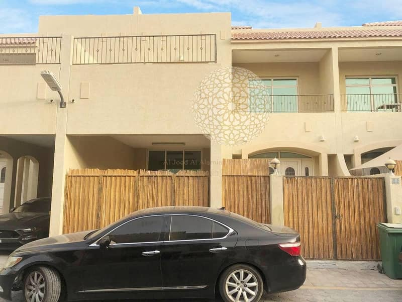 SWEET AND LOVELY 3 MASTER BEDROOM COMMUNITY VILLA FOR RENT IN KHALIFA CITY A WITH ALL FACILITIES
