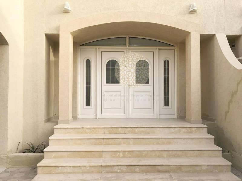 2 SWEET AND LOVELY 3 MASTER BEDROOM COMMUNITY VILLA FOR RENT IN KHALIFA CITY A WITH ALL FACILITIES