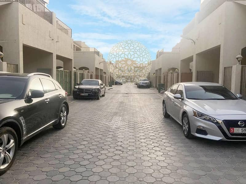 29 SWEET AND LOVELY 3 MASTER BEDROOM COMMUNITY VILLA FOR RENT IN KHALIFA CITY A WITH ALL FACILITIES