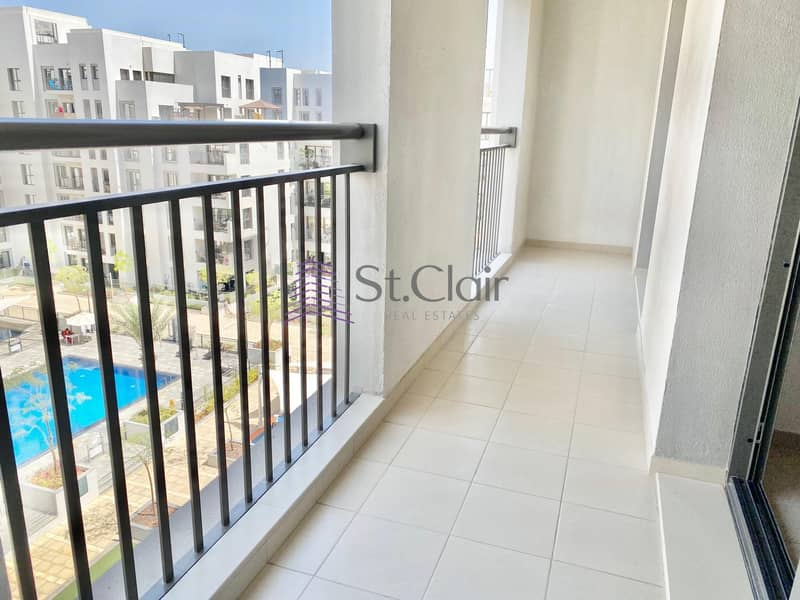 2 Pool View | Cheapest 2 Bedroom in Zahra