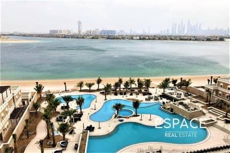 فلیٹ 2 غرفة نوم للايجار في نخلة جميرا، دبي - Sea View| Spacious 2BR | Balqis Residence
