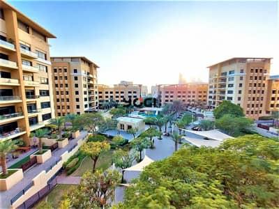 فلیٹ 4 غرف نوم للايجار في الروضة، دبي - 4 BR + STUDY / POOL VIEW /  UPGRADED / CHILLER FREE / AL SIDIR - GREENS