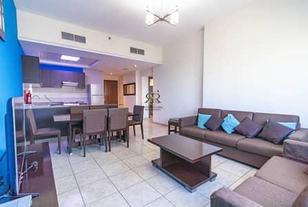 شقة 2 غرفة نوم للبيع في مثلث قرية الجميرا (JVT)، دبي - Furnished 2 Bedrooms with balcony   Well Maintained